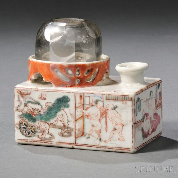Hookup Chinese Porcelain From Facial Features And Adornments