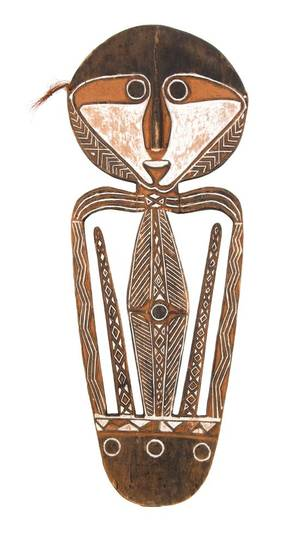 An African Figural Shield