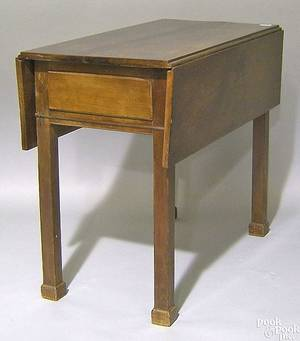Pennsylvania Chippendale cherry pembroke table