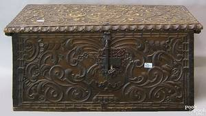 Continental carved chest
