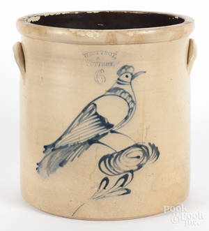 New York sixgallon stoneware crock