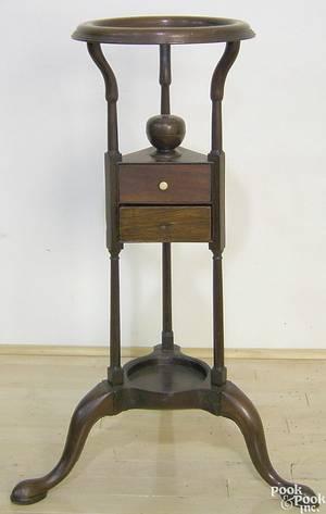 George II mahogany basin stand ca 1760