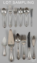 Dominic and Haff sterling silver flatware service