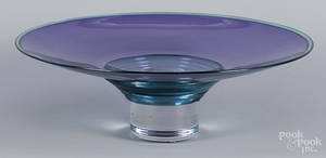 Young  Constantin art glass centerpiece