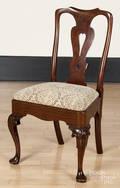 George II mahogany dining chair
