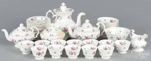 English porcelain tea and luncheon service