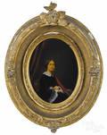 Victorian gouache enhanced photo of Ann Ruffner Howell