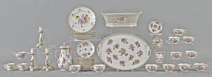 Dresden porcelain tea and luncheon service