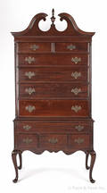 Kling mahogany highboy