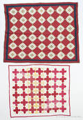 Three pieced quilts