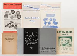 Miscellaneous Group of Five Vintage Gambling Supply