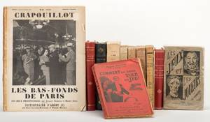 Miscellaneous Group of Fourteen Vintage French Books