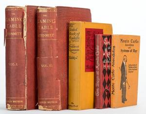 Miscellaneous Group of Five Vintage Books on
