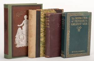 Miscellaneous Group of Four Vintage Books on Gambling
