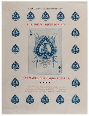 Two American Playing Card Co Price Lists Kalamazoo