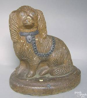 Ohio sewer tile spaniel late 19th c