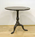 Queen Anne mahogany tea table