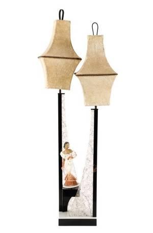 Large Modern Moss Lamp Carmen Miranda