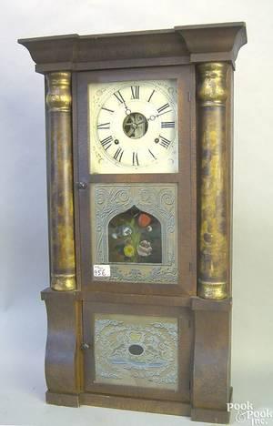 Seth Thomas mahogany mantle clock