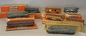 Lionel trains to include two 2344 New York central engines