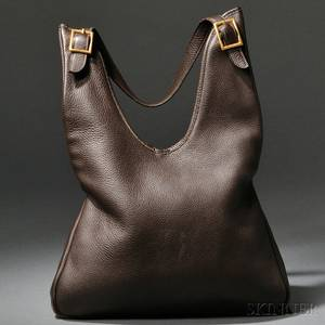 Vintage Leather Handbag Hermes