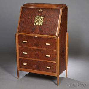 Art Deco Desk in the Manner of Ruhlmann