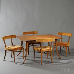 TH RobsjohnGibbings Dining Table and Four Chairs