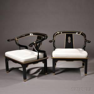 Pair of Ray Sobota Chin Hua Lounge Chairs