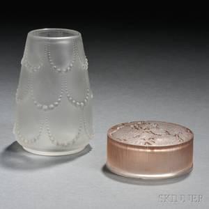Rene Lalique Box and Vase