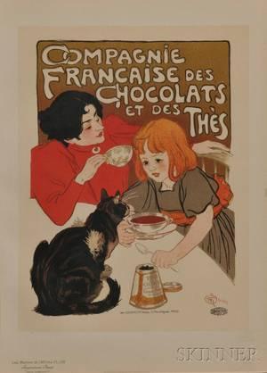Steinlen Theophile Alexandre 18591923 Compagnie Francaise des Chocolats et des Thes