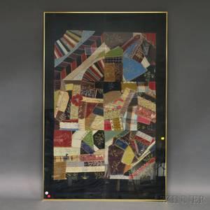 Framed Victorian Crazy Quilt