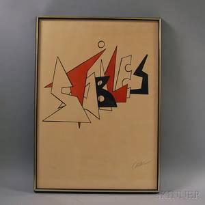 Alexander Calder American 18981976 Stabiles