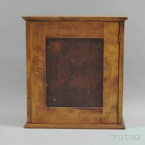 Angel Dainty Dyes Mahogany Display Cabinet