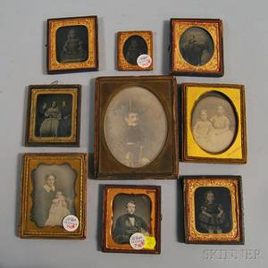 Nine Early Photographic Portraits