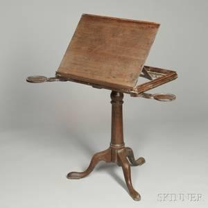 Georgian Mahogany Reading Stand