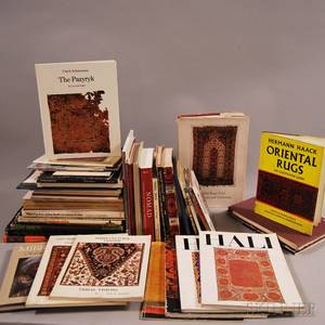 Large Collection of Rugrelated Books and Magazines