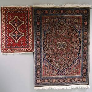 JosanSarouk Rug and Northwest Persian Mat