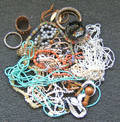 Group of costume jewelry to include 20 bracelets