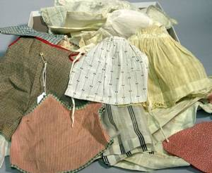Fifty Miscellaneous Aprons and Smocks
