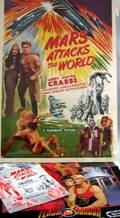 Publicity Book from Filmcraft Pictures for Mars Attacks the World