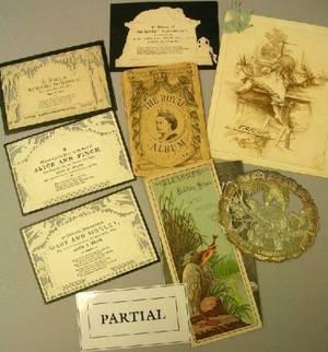 Lot of Miscellaneous Ephemera