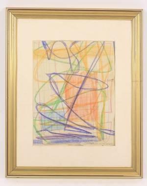 Abstract Work on Paper Arthur Van Court Estate
