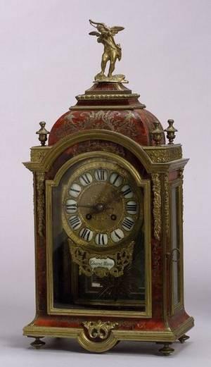 Louis XIV Style Boulle Mantel Clock