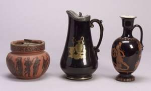 Three Classical Revival Ceramic Vessels