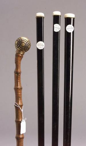 Four Walking Sticks
