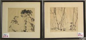 Six engravings and prints