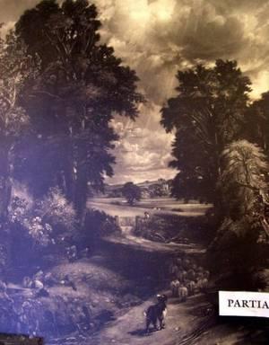 Pair of Gilt Gesso Rustic Framed Landscape Engravings