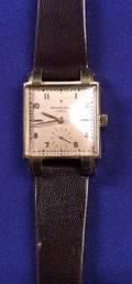 Gentlemans 18kt Rose Gold Wristwatch Patek Philippe c 1940s