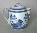 Chinese export Canton cider jug
