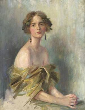 Emil Fuchs American 18661929 A Young Juno Miss Ellen Kamerly